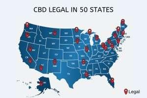 Hemp-derived CBD is legal in all 50 states
