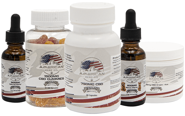 American Hemp Oil - CDB Isolate - Oil, Gummies, Capsules, Cream