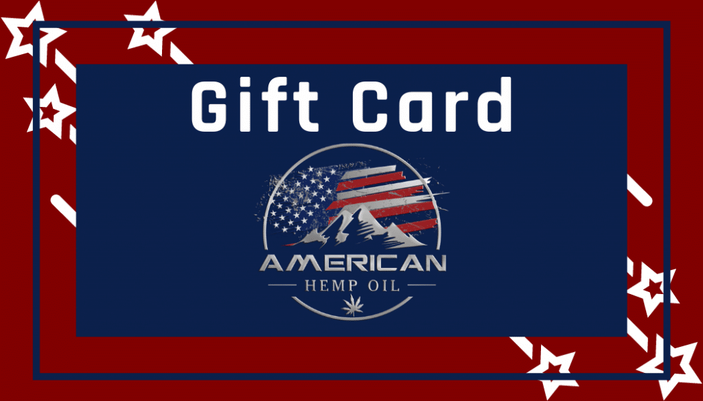 American Hemp Oil CBD Gift Card