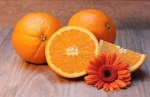 Terpenes in oranges promote wellness