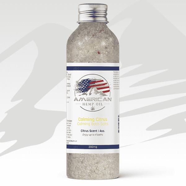 CBD Bath Salts - Calming Citrus